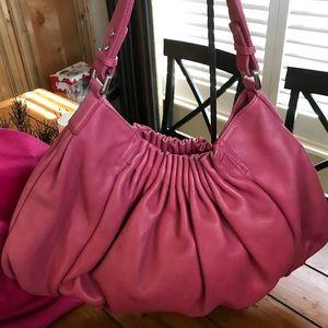Fuchsia Kenneth Cole Shoulder Bag